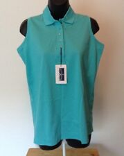 Outer Banks Reserve Sz Small Teal Blue Sleeveless Top Tank Shirt B1