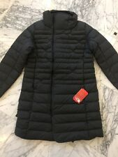 NWT Women's North Face Far Northern Parka- Down Long Coat- Dark Grey-Size XL