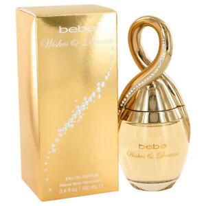 Bebe Wishes & Dreams Women's Perfume By Bebe 3.4oz/100ml Eau De Parfum Spray