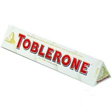 3 Packs of TOBLERONE Swiss White Chocolate 100g
