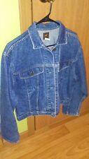 Vintage Lee Jean Jacket Small Denim Classic Cut Button  153438