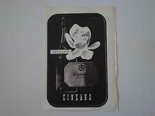 advertising Pubblicità 1947 CINZANO SPUMANTI