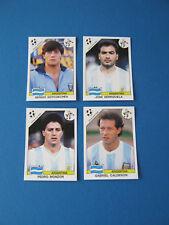 PANINI WM 1990 Italia 90 - 4 Extra Sticker Argentinien