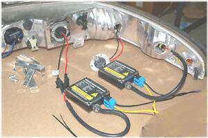 97 98 Lincoln Mark VIII 8 HID  HEAD LIGHT BULB Ballast harness