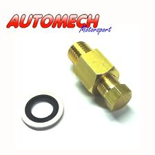 Sump Plug Adapter M12, 1.5 to 1/8NPT, Most Honda and Toyota MR2 (121)