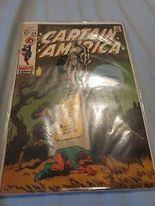 Marvel Comic Captain America No 113 May