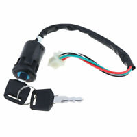 Ignition Key Switch Lock 4 Wires For Motorcycle Motor Electric Scooters ATV Part