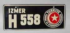 Vintage Wheaties Cereal Premium Turkey Bicycle License Plate