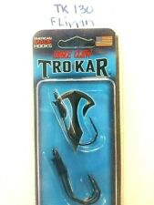 TROKAR EAGLE CLAW LAZER TK130 FLIPPIN HOOK -LAZER SHARP - VERY STRONG