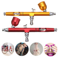 AR130 0.3mm Double Action Pistolen Airbrushpistole Komplett Set Airbrush Pistole