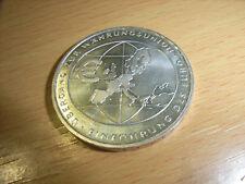 """BRD 10 Euro 2002 """"Einfürung des Euro"""" Gedenkmünze F 925er SILBER"""