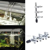 Aquarium Fish Tank Air Pump Flow Tube Pipe Line Stainless Steel Control Valve