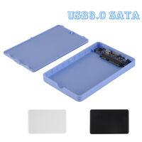2.5'' USB 3.0 SATA HDD Case External Hard Drive Enclosure NAS Network Share