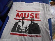 Mens Unisex Muse Resistance Concert Shirt S