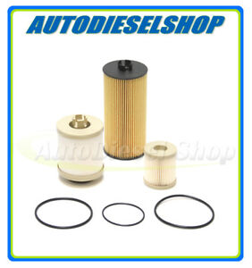 03-07 FORD 6.0 6.0L POWERSTROKE DIESEL OE REPLACEMENT OIL & FUEL FILTER KIT