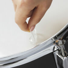 Drum Mini Clear Damper Pads Pack Washable of 6 Controls Resonance Overtones