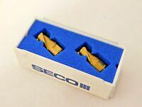 Seco Carbide Milling Tip Inserts MP12-12014R31Z3-E04 Grade F40M Qty 2 51741