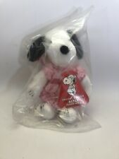 """Vintage Snoopy's Sister Belle Plush Beagle Dog Doll With Tags 9"""" BRAND NEW"""