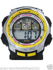 Man Boy Sports Digital Watch Alarm DayDate Watchlight WR Stopwatch Sydney Seller