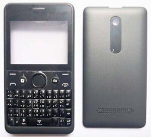 For Nokia Asha 210 Replacement Housing /Fascia /Case /Cover - Black