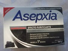 New!! ASEPXIA CARBON DETOX 100g x 2 bars of acne fighting soap NEW FORMULA!!!
