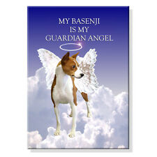 BASENJI Guardian Angel FRIDGE MAGNET No 1 DOG
