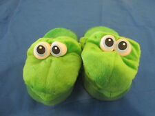 Stompeez Adorable Green Dragon S/M Kid Kid Size Slipper Shoe Stuffed Animal
