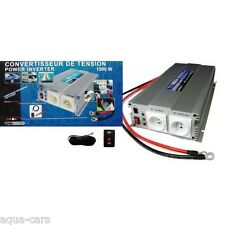 Convertisseur De Tension 12v/220v 1500w-3000w En Pointe Norme CE