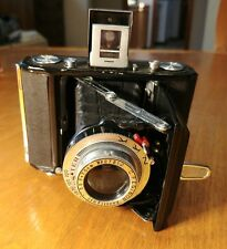 Semi Leotax Made in Occupied Japan Folding Camera w/ Wester 75mm f/3.5 Lens SOW