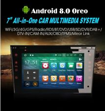 "RADIO DVD 7"" EXCLUSIVA OPEL HD ANDROID 8.0 GPS WIFI 3G BLUETOOTH  USB"