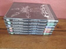 Super Dimension Fortress Macross AnimEigo TV Series DVD Lot 6 Sealed 2,3,6,7,8,9