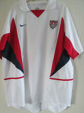 USA 2002-2004 Home  Football Shirt XL Adults /39010