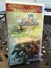 FINAL FANTASY TACTICS: WAR of the LIONS / PSP / BRAND NEW + SEALED, FREE SHIP!!