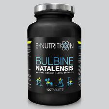 Bulbine natalensis 120 Compresse 2000mg Anabolizzanti Testosterone Booster e-nutrition