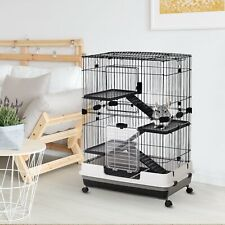 43 Inch Indoor Rabbit Cage for Small Animal Ferret Chinchilla Bunny Guinea Pig