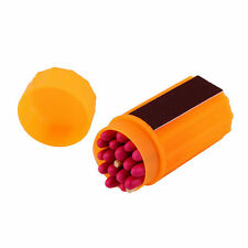 Outdoor Stormproof Windproof Waterproof Matches Kit Orange Case 20 Matches GT