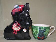 New listing Portobello By Design Tea Coffee Soup Mug Cup Black Scottie Scottish Terrier