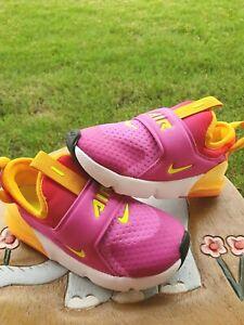 "Nike Air Max 270 Extreme ""Active Fuchsia"" Girls'  BRAND NEW Toddler 10C"
