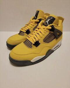 New Nike Air Jordan 4 Retro Lightning (2021) CT8527-700 Men's Size 11