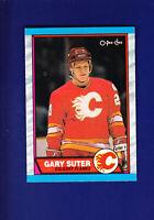 Gary Suter 1989-90 O-PEE-CHEE OPC Hockey #108 (MINT) Calgary Flames
