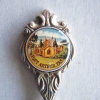Port Arthur Tas Stuart Silverplated Souvenir Spoon Teaspoon