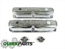MOPAR PERFORMACE 318/340/360 Small Block Engines POLISHED ALUMINUM VALVE COVERS