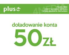 DOŁADOWANIE DOLADOWANIE - PLUS 50 PLN [Szybka realizacja/PayPal/Przelew]