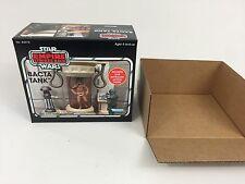 custom star wars empire strikes back luke skywalker bacta tank box + inserts