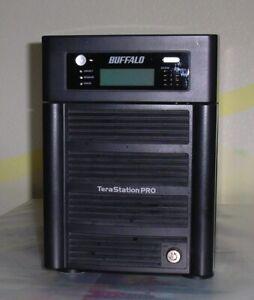 Buffalo NAS TeraStation PRO TS-HTGL/R5 mit Festplatten 4 x 250 GB