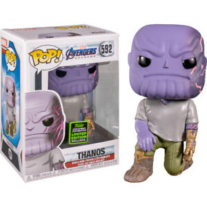 Avengers End Game - Thanos with Magnet Arm ECCC 2020 #592 Funko POP! vinyl (RS)