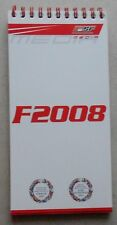 Ferrari F2008 Media Buch Book 3182/07 brochure press depliant
