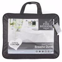 Fine Bedding Company Luxury Breathe Duvet Washable Climate Control 4.5 Tog Quilt