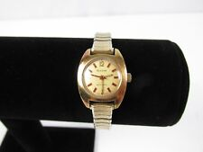 Vintage Ladies Bulova N1 Automatic Watch Gold Electroplate Works Well RARE WATCH