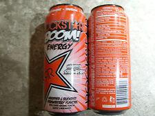 ENERGY DRINK,Rockstar ,(1 full Can ) Boom Strawberry,16 oz, USA